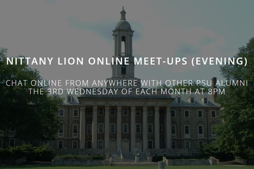 Photo for Nittany Lion Online Meetup (Evening)